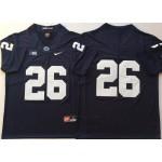 Penn State Nittany Lions Blue #26 BARKLEY