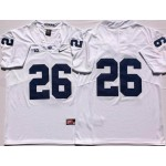 Penn State Nittany Lions White #26 BARKLEY