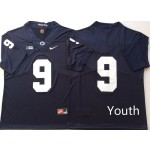 Youth Penn State Nittany Lions Blue #9 MCSORLEY