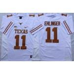 Texas Longhorns White #11 EHLINGER