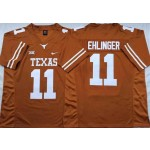 Texas Longhorns Yellow #11 EHLINGER