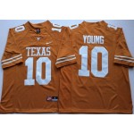 Texas Longhorns YELLOW #10 YOUNG