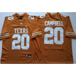 Texas Longhorns YELLOW #20 CAMPBELL