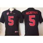 Stanford Cardinals black #5 McCaffrey jersey