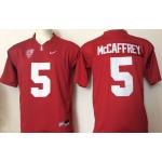 Stanford Cardinals red #5 McCaffrey jersey