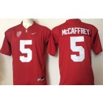 Youth Stanford Cardinals red #5 McCaffrey jersey