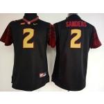 Womens Florida State Seminoles Black #2 Sanders jersey