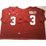 Alabama Crimson Tide Red #3 RIDLEY