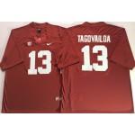 Alabama Crimson Tide Red #13 TAGOVAILOA