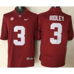 Youth Alabama Crimson Tide Red #3 Ridle jersey