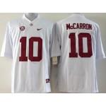 Youth Alabama Crimson Tide McCarron #10 white jersey