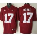 Youth Alabama Crimson Tide Drake #17 red jersey