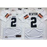 Auburn Tigers White #2 NEWTON