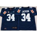 Auburn Tigers Blue #34 JACKSON