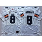 Auburn Tigers White #8 STIDHAM
