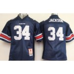 Auburn Tigers Blue #34 Jackson Youth jersey
