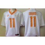 Tennessee Volunteers white #11 Dobbs jersey