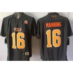 Youth Tennessee Volunteers Manning #16 Gray jersey