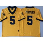 Michigan Wolverines YELLOW #5 PEPPERS