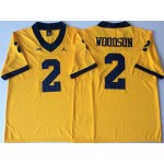 Michigan Wolverines YELLOW #2 WOODSON