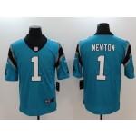 NFL Carolina Panthers Cam Newton #1 blue Vapor Untouchable Limited Jersey