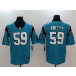 NFL Carolina Panthers  Luke Kuechly #59 blue Vapor Untouchable Limited Jersey