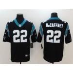 NFL Carolina Panthers McCaffrey #22 black Vapor Untouchable Limited Jersey