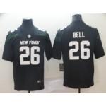 NFL Jets Le'Veon Bell #26 black 2019 Vapor Untouchable Limited Jersey