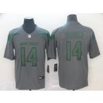 NFL New York Jets Sam Darnold #14 Grey Inverted Legend Jersey