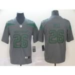 NFL New York Jets Le'Veon Bell #26 Grey Inverted Legend Jersey