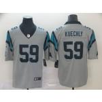 NFL Carolina Panthers Luke Kuechly #59 Grey Inverted Legend Jersey