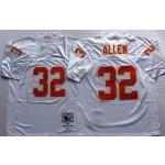 NFL Kansas City Chiefs Marcus Allen #32 White Throwback Jersey