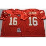 NFL Kansas City Chiefs Len Dawson #16 Red Throwback Jersey