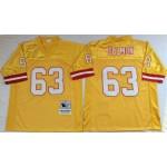 NFL Tampa Bay Buccaneers Roy Selmon #63 Gold Throwback Jersey