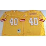 NFL Tampa Bay Buccaneers Mike Alstott #40 Gold Throwback Jersey