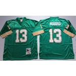 NFL Miami Dolphins Dan Marino #13 Green Throwback jersey