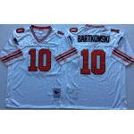 NFL Atlanta Falcons Steve Bartkowski #10 White 1989 Throwback Jersey