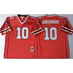 NFL Atlanta Falcons Steve Bartkowski #10 Red 1989 Throwback Jersey