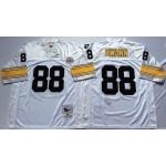 NFL Pittsburgh Steelers Lynn Swann #88 white Throwback Jersey