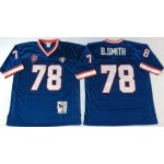NFL Buffalo Bills B.Smith #78 blue Throwback Jersey