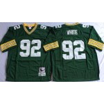 NFL Green Bay Packers Reggie White #92 Green Throwback Jersey