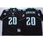 NFL Philadelphia Eagles Brian Dawkins #20 black Throwback Jersey