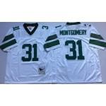 NFL Philadelphia Eagles Wilbert Montgomery #31 White Throwback Jersey