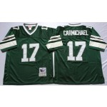 NFL Philadelphia Eagles Harold Carmichael #17 Green Throwback Jersey