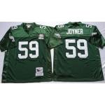 NFL Philadelphia Eagles Seth Joyner #59 Green Throwback Jersey