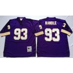 NFL Minnesota Vikings John Randle #93 Purple Throwback Jersey