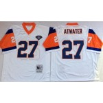 NFL Denver Broncos Steve Atwater #27 White Throwback Jersey