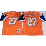NFL Denver Broncos Steve Atwater #27 Orange Throwback Jersey