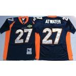 NFL Denver Broncos Steve Atwater #27 blue Throwback Jersey