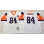 NFL Denver Broncos Shannon Sharpe #84 White Throwback Jersey